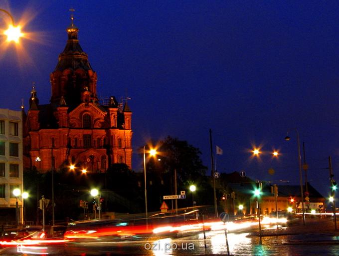 Хельсінкі вночі