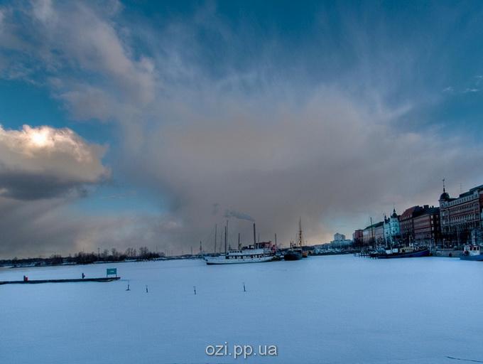 Зимовий день в Хельсінкі