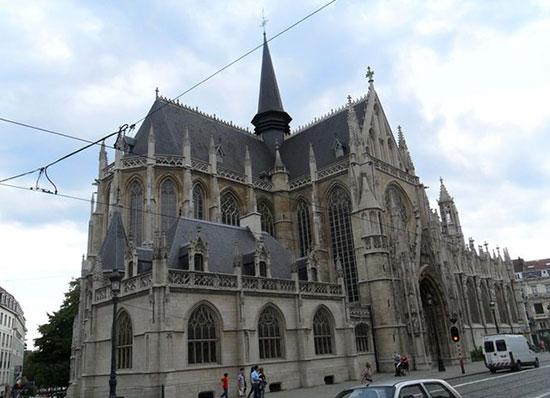 Брюссель - собор Саблон