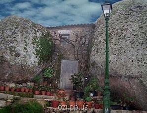Монсанто - селище серед каменів