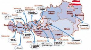 Мапа австрії
