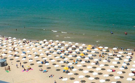 Болгарія - пісчані пляжі