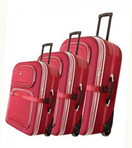 валіза з тканини