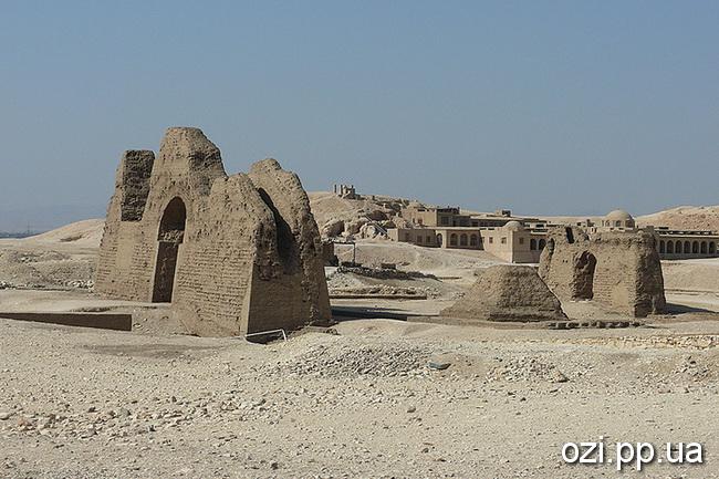 Єгипет. Храм цариці Хатшепсут