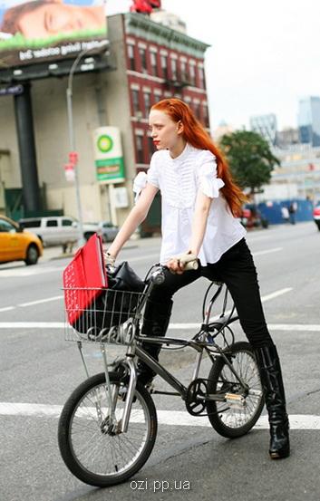 Фото на велосипеді