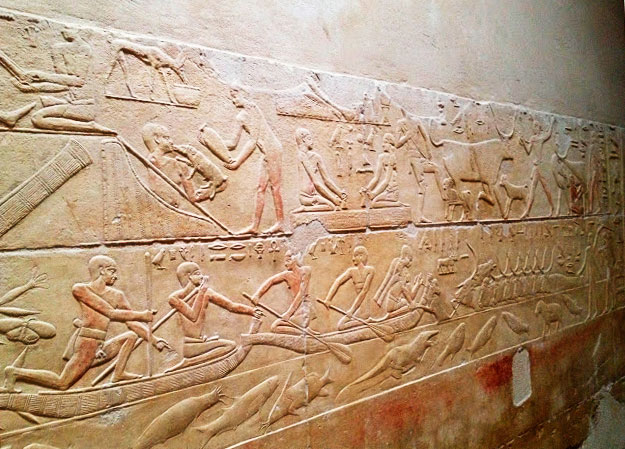 малюнки людей у Єгипті