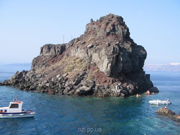 скелі Санторіні