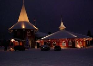 На батьківщині Діда Мороза перед новим роком