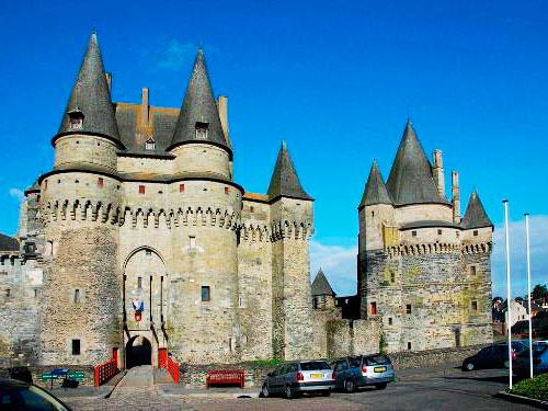 Замок Вітре Бретань