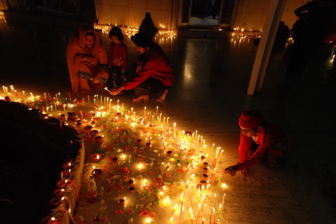 Свято Дівалі в Індії