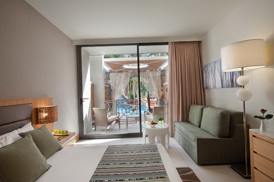 Сімейний номер готелю Isrotel Agamim