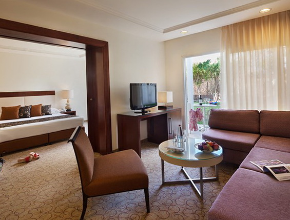 Суміжний двумісний номер готелю Isrotel Yam Suf