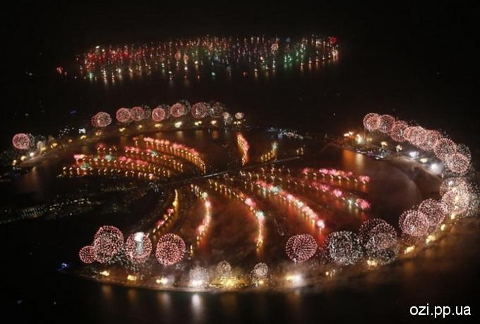 Новий рік в Дубаї