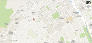 Карта посольства в Індії