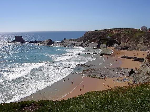пляжі Алентежу