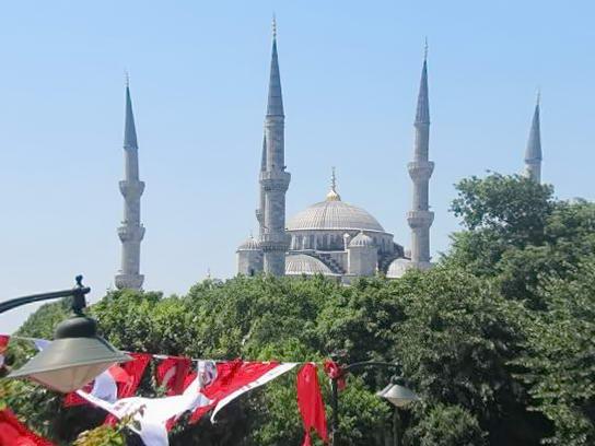 мечеть султана Ахмеда у Стамбулі