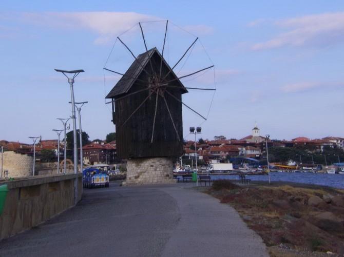 млин у місті Балчик. Болгарія