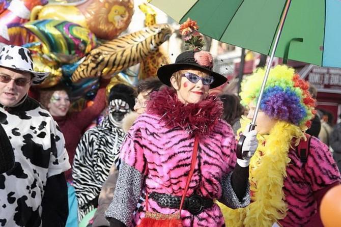 Карнавал Жирна Неділя в Парижі
