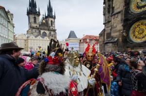 Масленичний карнавал - шумні гуляння в Празі