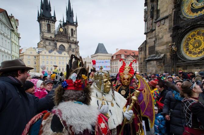 Карнавал у Празі