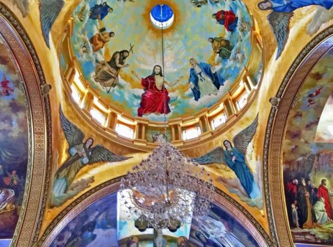 стелі християнської церкви Шарм-Ель-Шейху