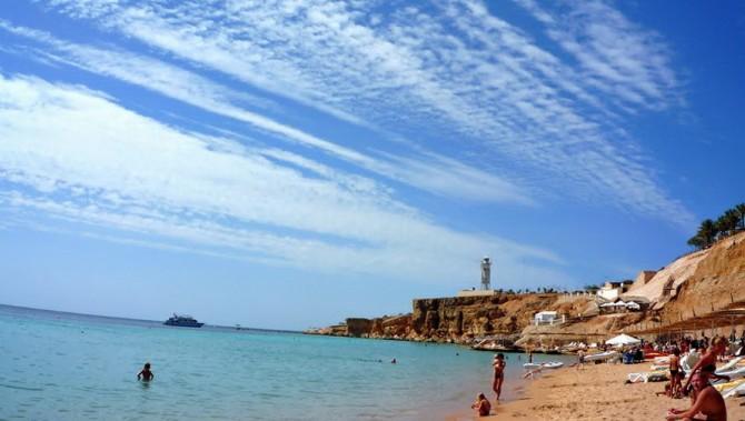 Пляжі Єгипту взимку