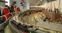 модель залізниці Гамбургу