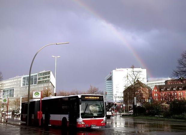 Гамбург під час дощу