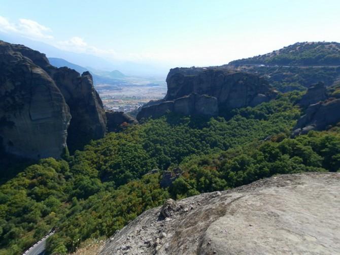 Краса гірських масивів Греції