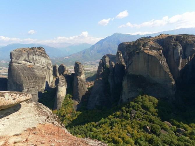 Скелі біля Метеорів