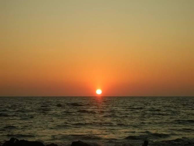 закат на Індійському океані