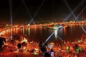 Свята Індії. Карнавал на озері Канкарія