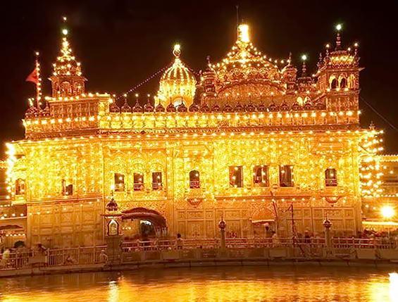 Золотий храм на півночі Індії