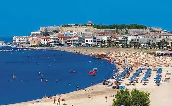 пляжі острову Кріт