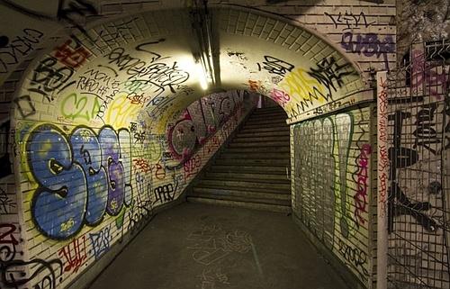 покинута станція метро Парижу