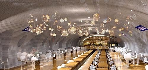 проект станції метро Арсенал в Парижі