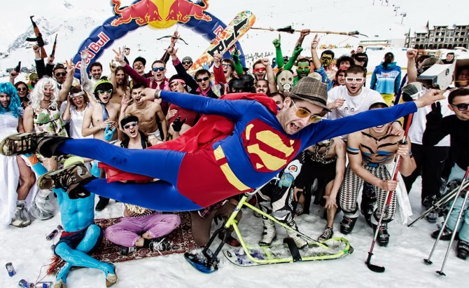 Змагання Red Bull Jump and Freeze
