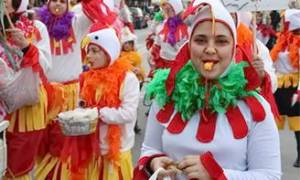 Карнавал на острові Сірос