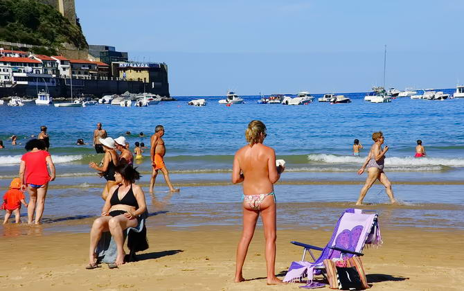 пляжі Іспанії