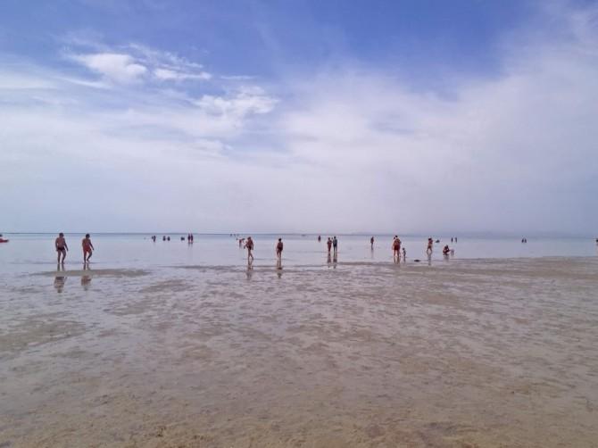 Червоне море під час віливу