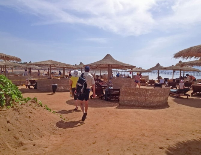пляж на курорті Набк Бей