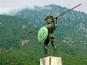 Ущелина Фермопіли - національна святиня греків