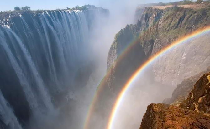 Фото водоспаду Вікторія