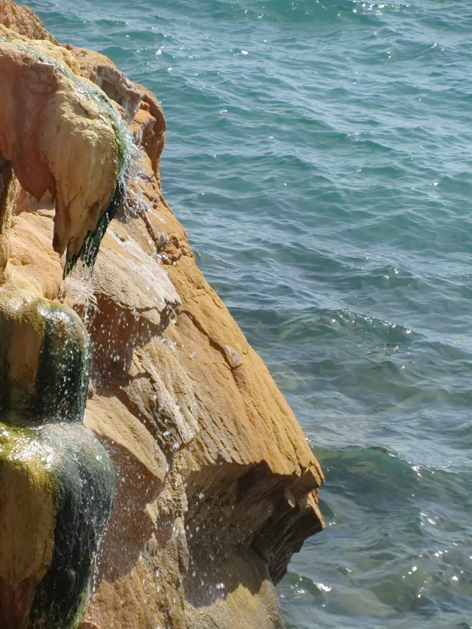 Острів Евія, родонові джерела в Лутра Едіпсу