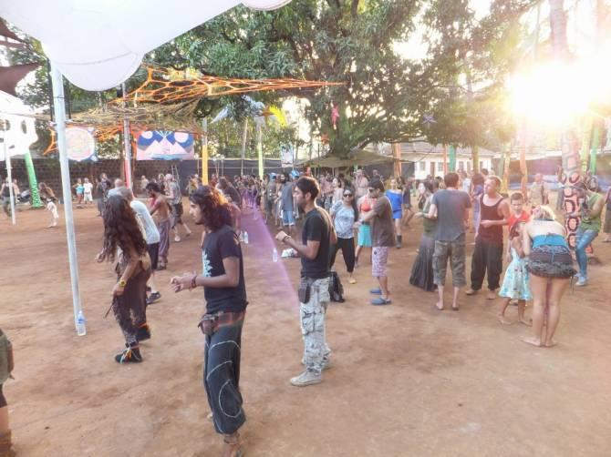 party в місті Vagator