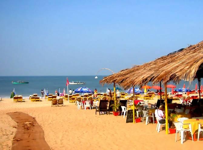 пляжі міста Baga