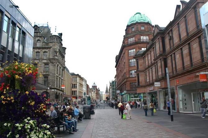 вулиці Глазго