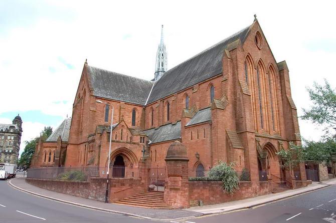 зал органної музики в Глазго під назвою Barony Hall