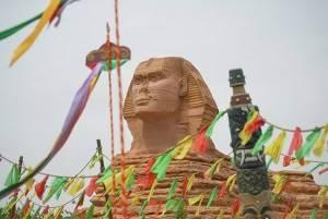 У Китаї створили копію єгипетського Сфінкса