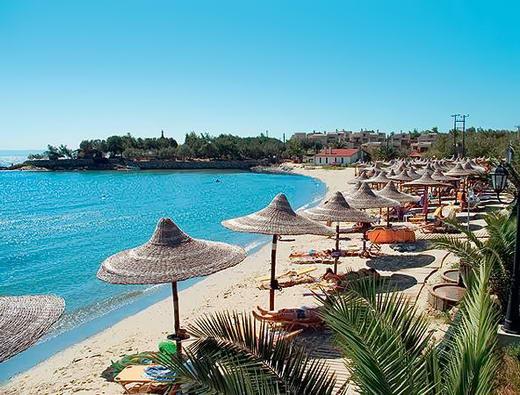 пляжі Греції